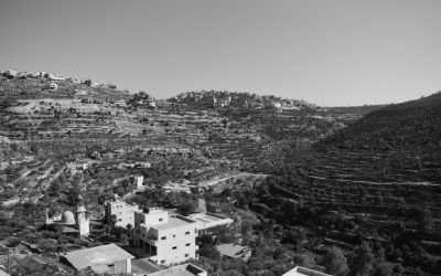 JUNCTION 60/437: A STUDY OF LANDSCAPE RUPTURE IN THE WEST BANK