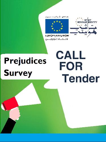 CALL FOR TENDER: Prejudices Survey